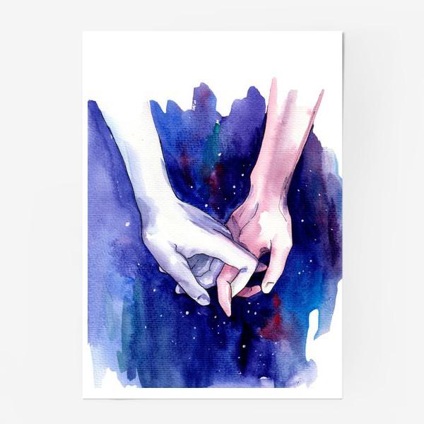 Постер «В космосе»