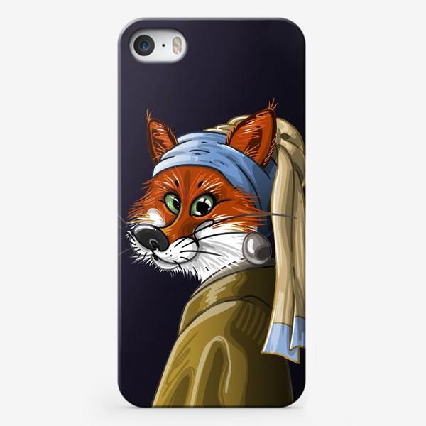 Чехол iPhone «девушка с жемчужной сережкой»