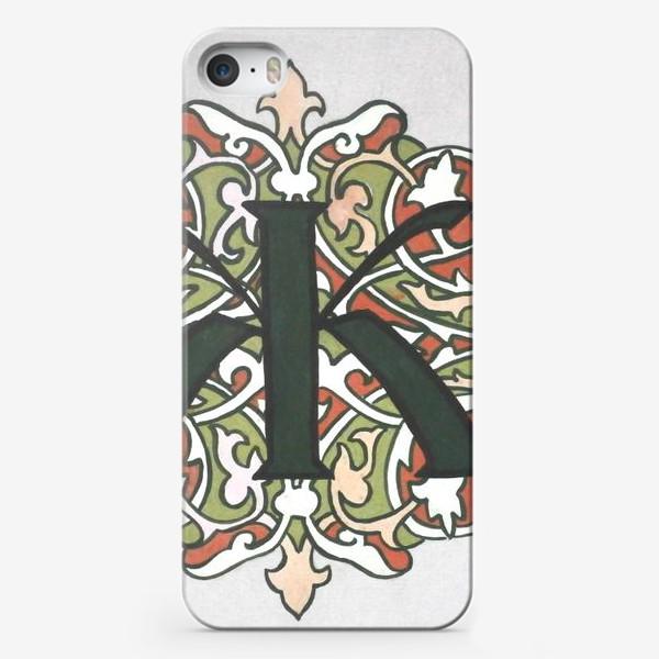 Чехол iPhone «Ж»