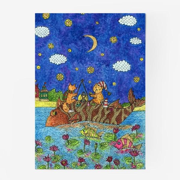Постер «Лисенок и мишка»
