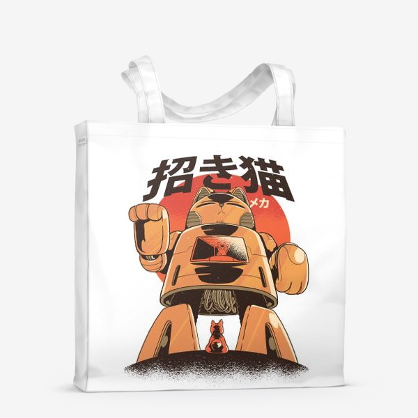 Сумка-шоппер «Японский Меха Кот»
