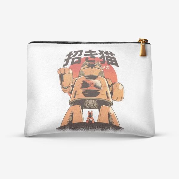 Косметичка «Японский Меха Кот»