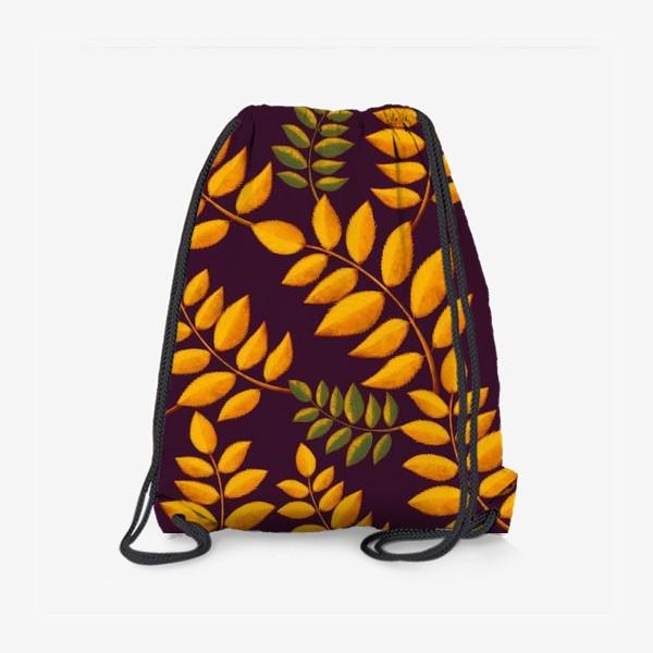 Рюкзак «осенние листья»