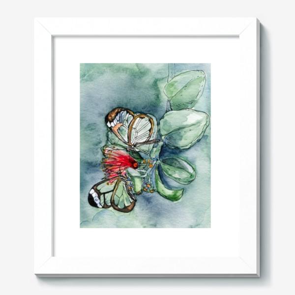 Картина «Стеклянные бабочки»
