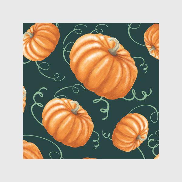Скатерть «оранжевые тыквы»