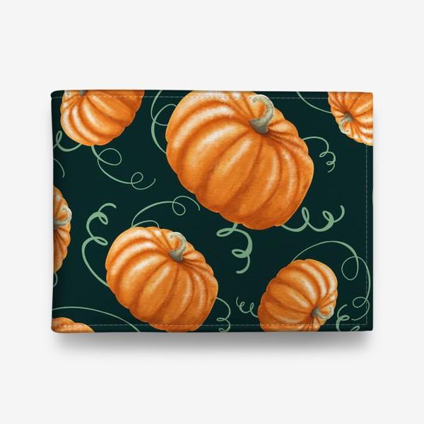 Кошелек «оранжевые тыквы»