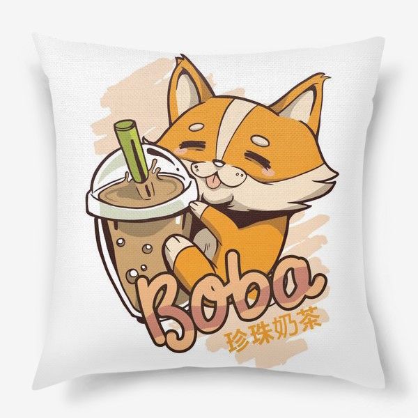 Подушка «Корги Боба»