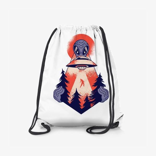 Рюкзак «Похищение пришельцами»