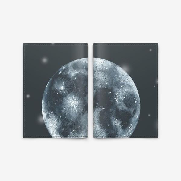 Обложка для паспорта «Moon»