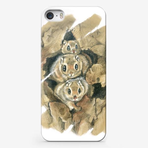Чехол iPhone «Из дупла »