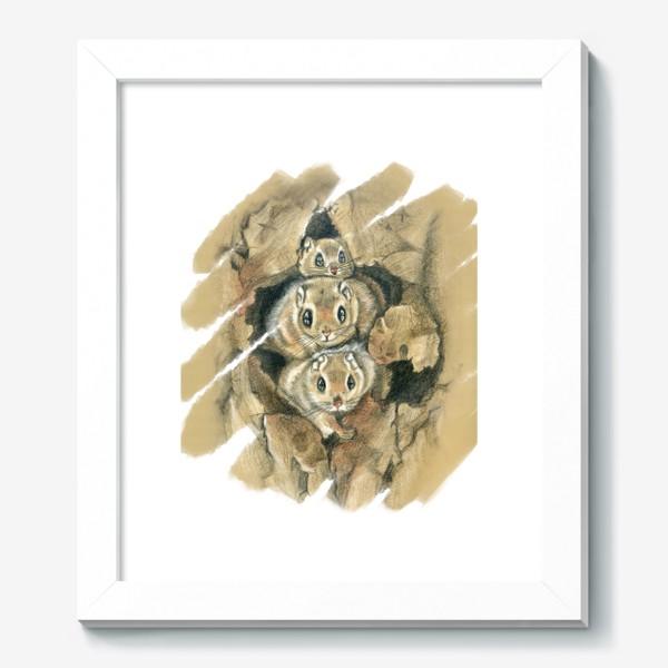 Картина «Из дупла »