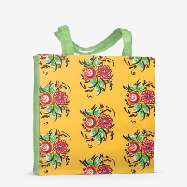 Сумка-шоппер «Городецкие цветы»