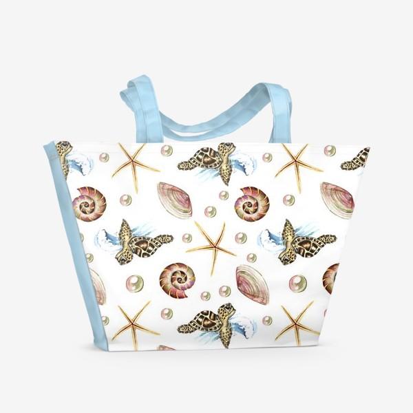 Пляжная сумка «черепашки»