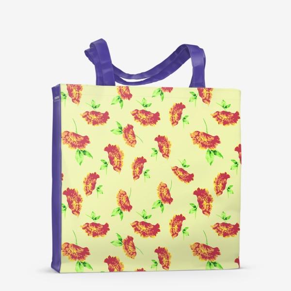 Сумка-шоппер «Цветы осени»