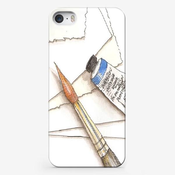 Чехол iPhone «Кисти & краски»