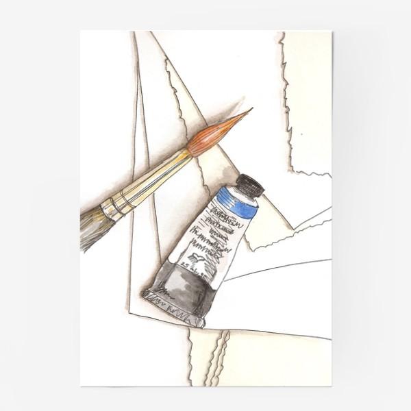 Постер «Кисти & краски»