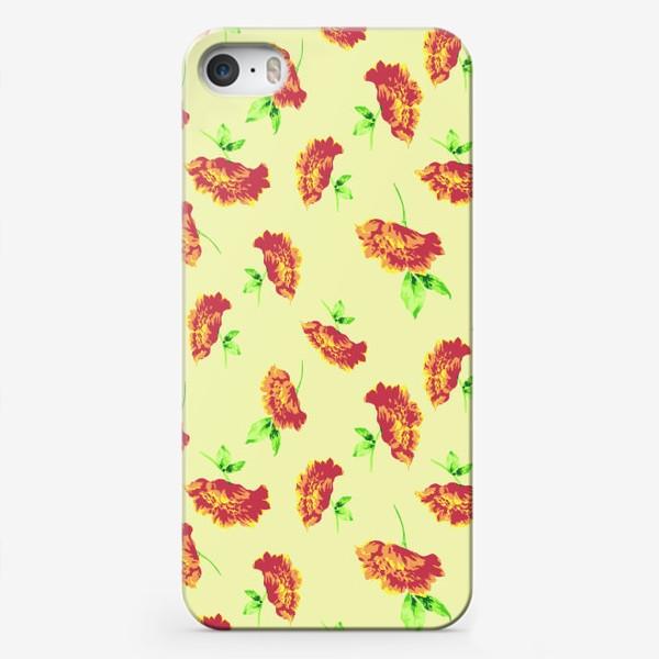 Чехол iPhone «Цветы осени»