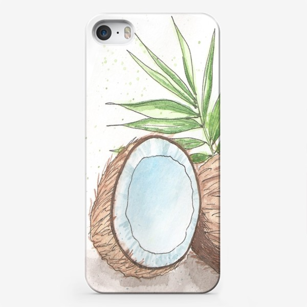 Чехол iPhone «Кокосы»
