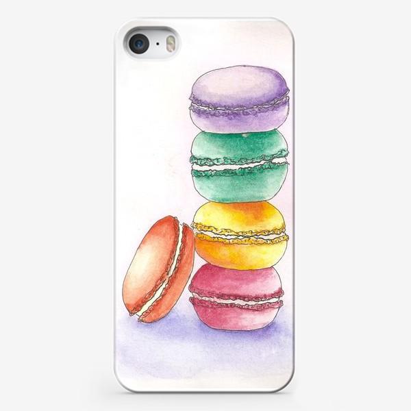 Чехол iPhone «Макаруны»