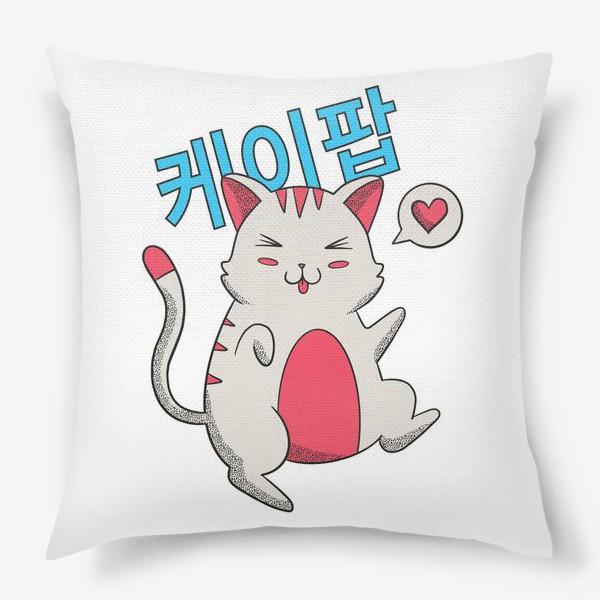 Подушка «K-POP Котик»