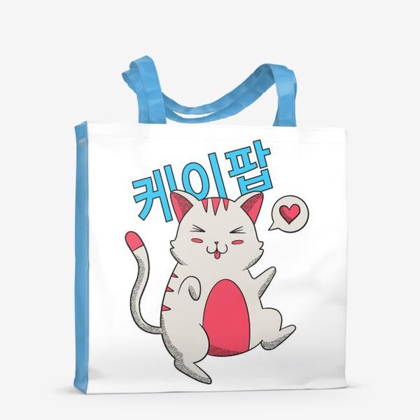 Сумка-шоппер «K-POP Котик»