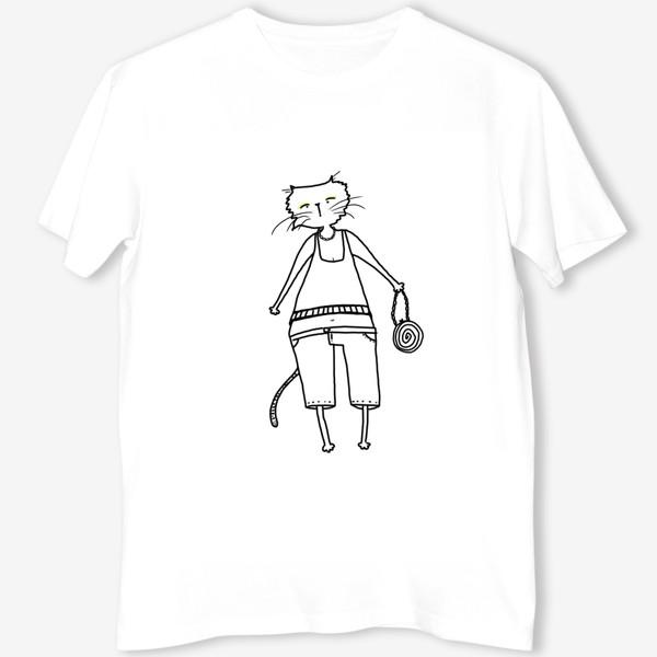 Футболка «Гламурное кисо. Модная, стильная кошка»