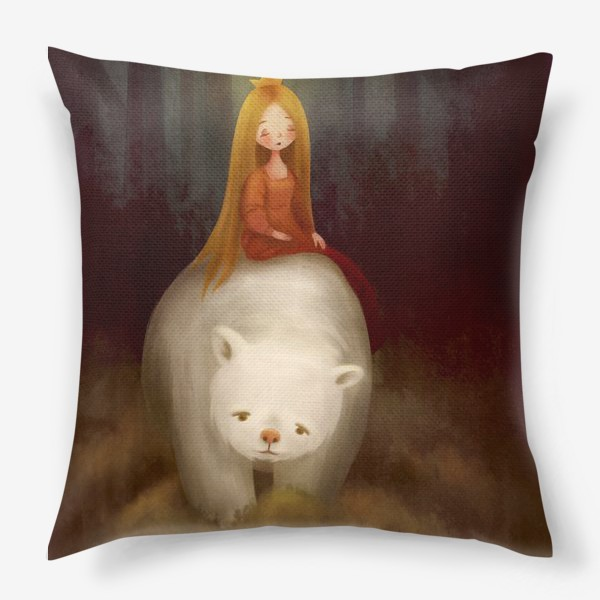 Подушка «Норвежские сказки»