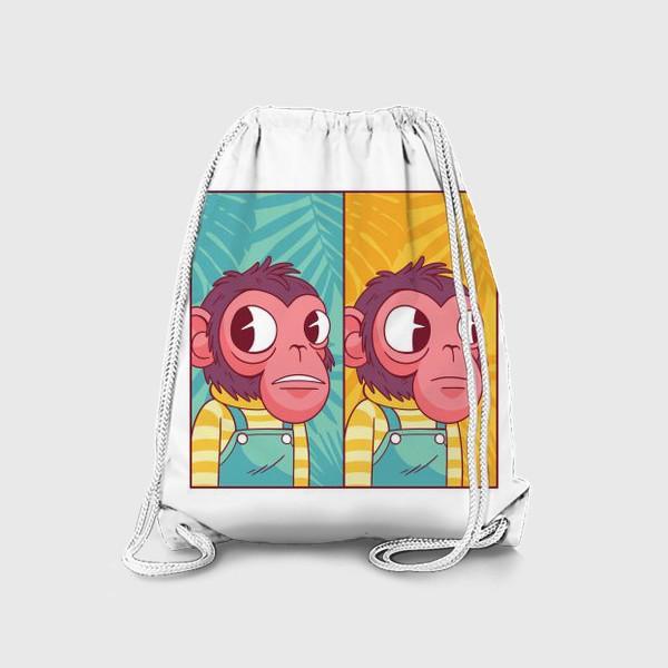 Рюкзак «Обезьянка из мема»