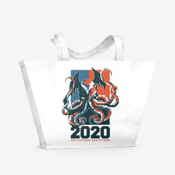 Пляжная сумка «Ктулху No Lives Matter»
