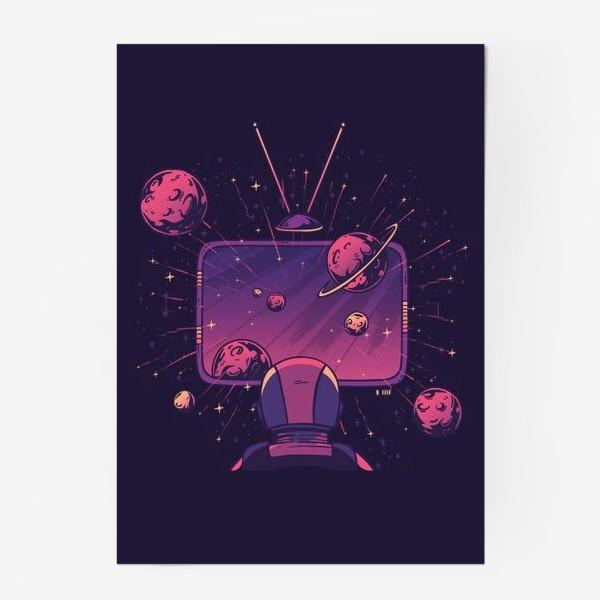 Постер «Космический телевизор»