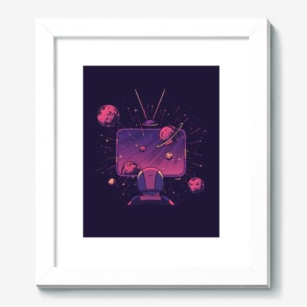 Картина «Космический телевизор»