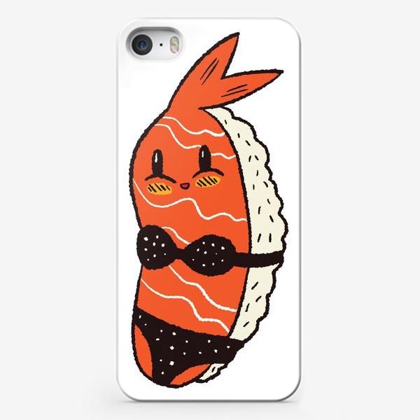Чехол iPhone «Суши в бикини»