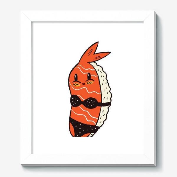 Картина «Суши в бикини»