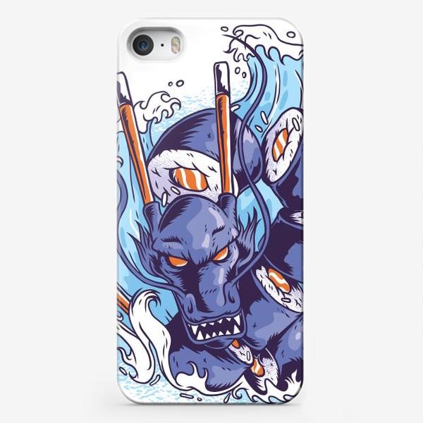 Чехол iPhone «Морской суши дракон»