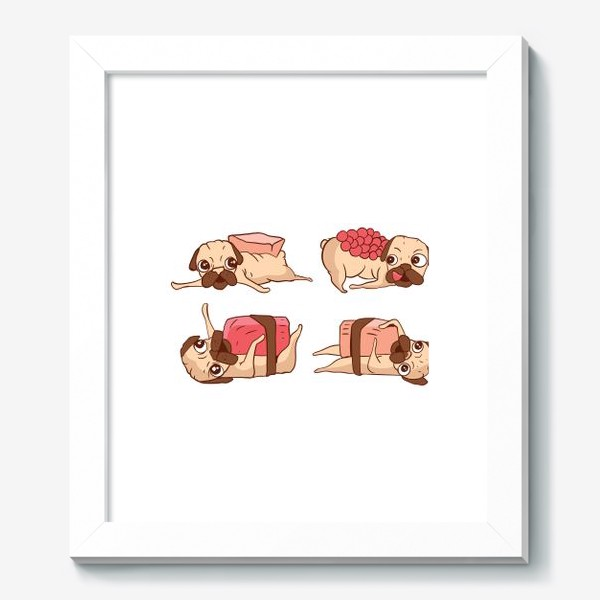 Картина «Суши Мопсы»