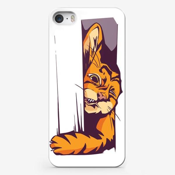 Чехол iPhone «А вот и КОТИК»