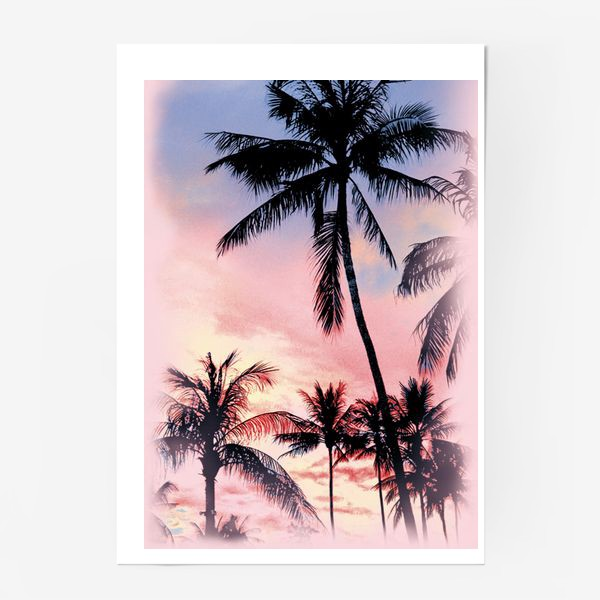 Постер «Пальмы»