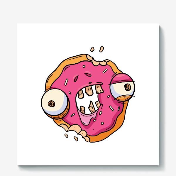 Холст «Зомби Пончик»