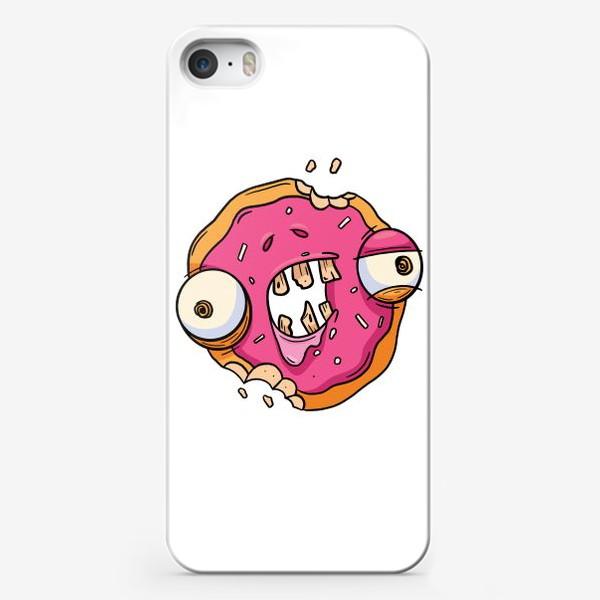 Чехол iPhone «Зомби Пончик»