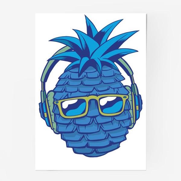 Постер «Синий Ананас»