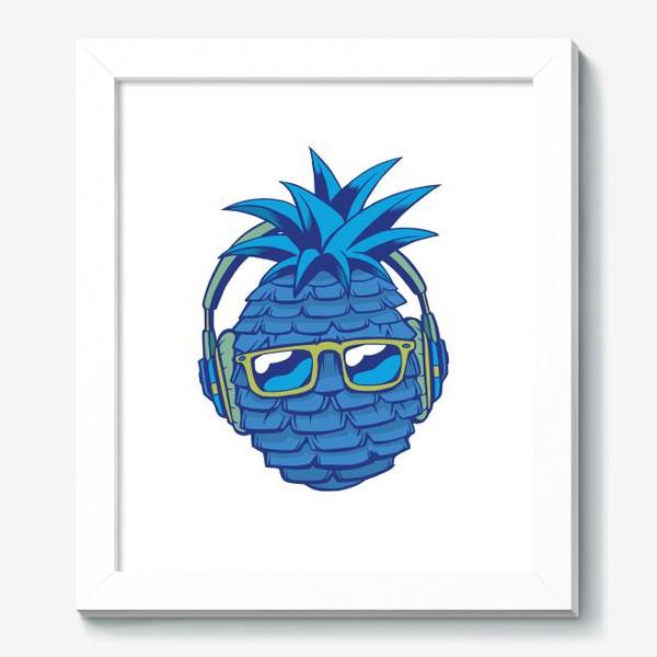 Картина «Синий Ананас»