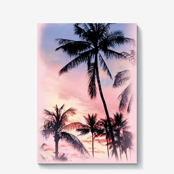 Холст «Пальмы»