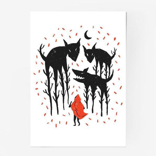 Постер «Красная Шапочка»