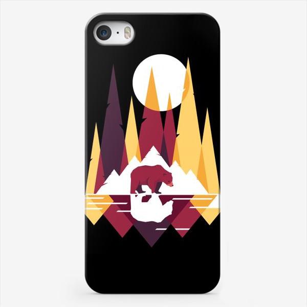 Чехол iPhone «Геометрический лес»