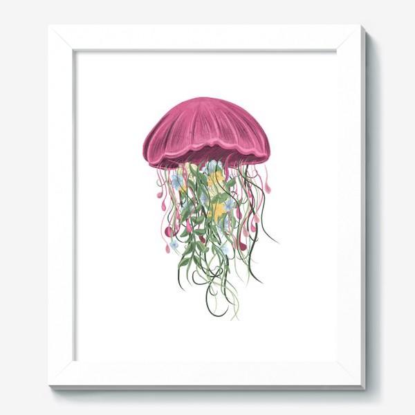 Картина «Медуза и цветы»