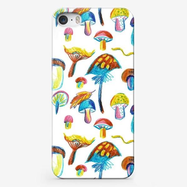 Чехол iPhone «Грибочки»