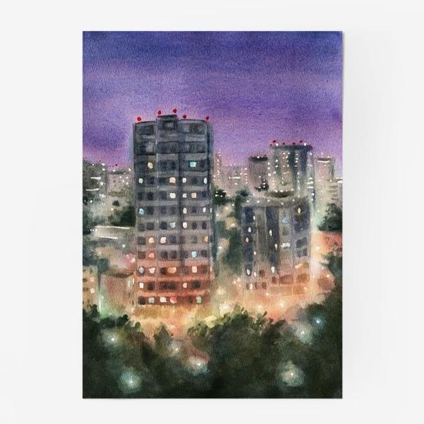 Постер «Человейники.Ночь»