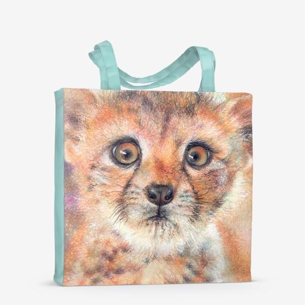 Сумка-шоппер «Лео,леопард»