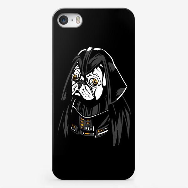 Чехол iPhone «Дарт Мопс»