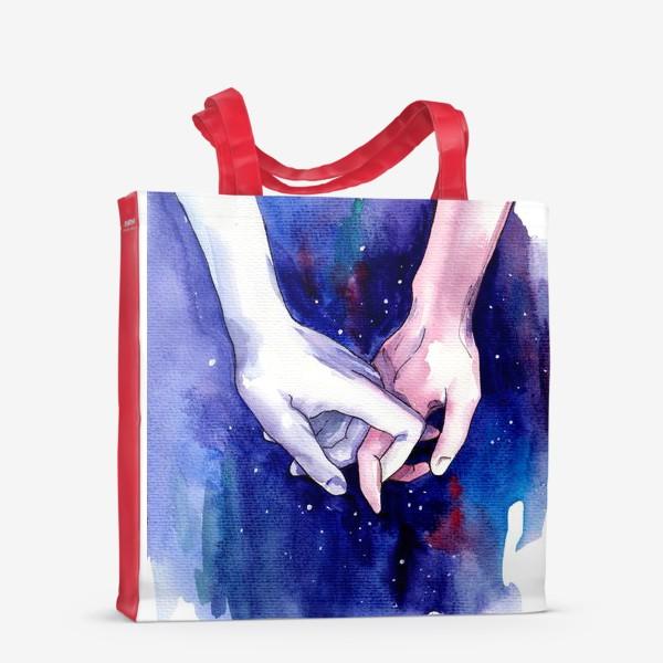 Сумка-шоппер «В космосе»